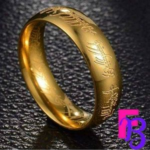 6mm Lord of the Rings Tungsten Carbide One Ring